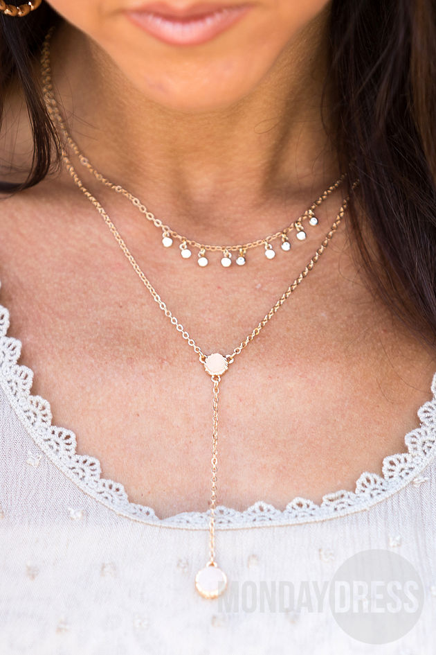 Free Thinker Necklace in Ivory