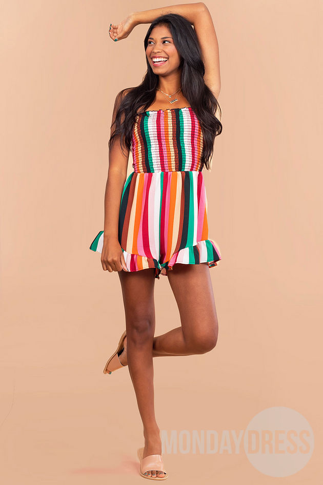 Goes Like this Romper