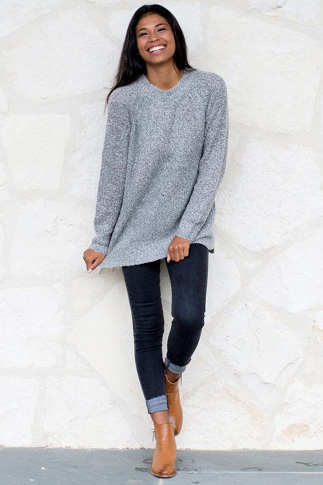 Mara Sweater in Gray