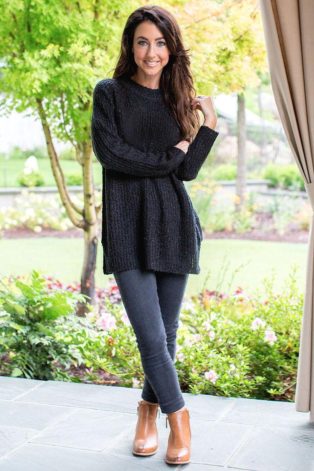 Mara Sweater in Black