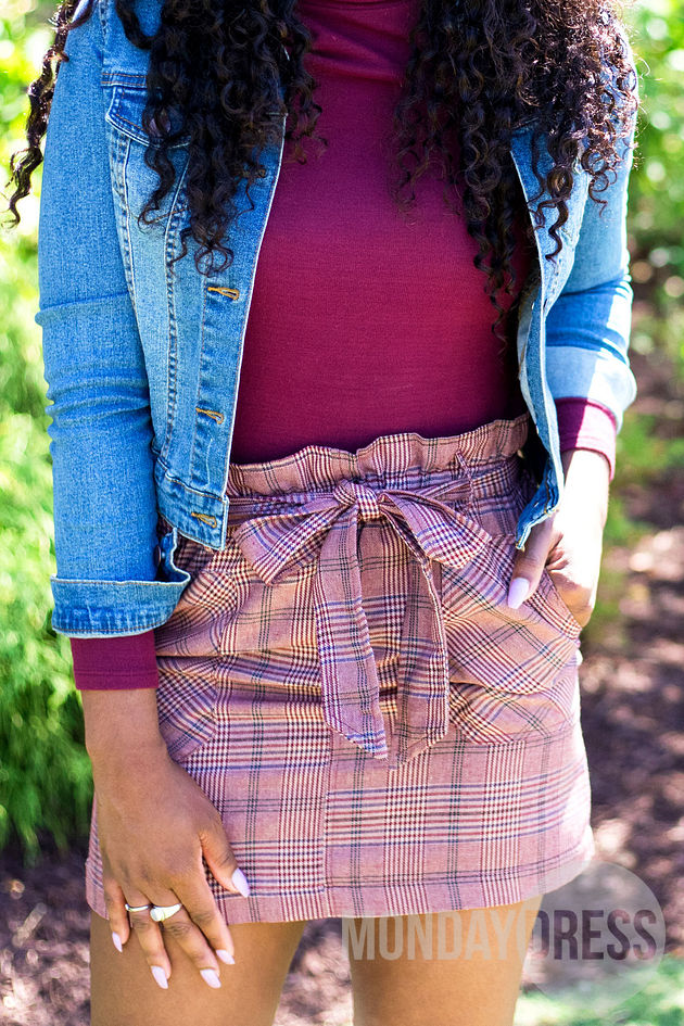 You Can't Hurry Love Skirt