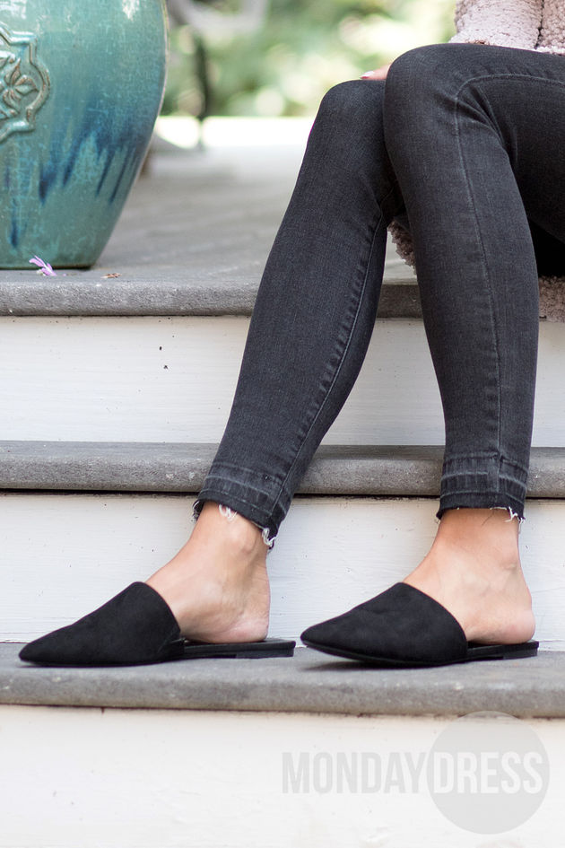 A New Direction Mule Slides