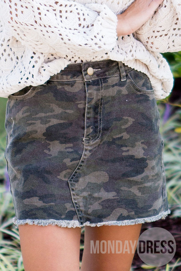 Backwoods Denim Skirt