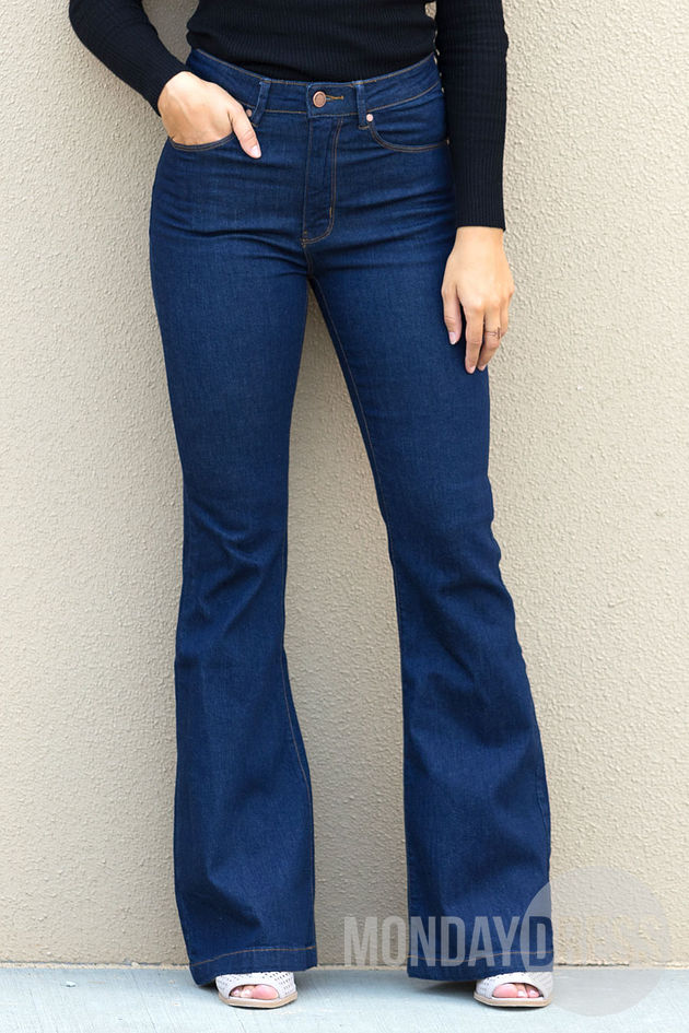 Love Is A Wild Thing Flare Jeans