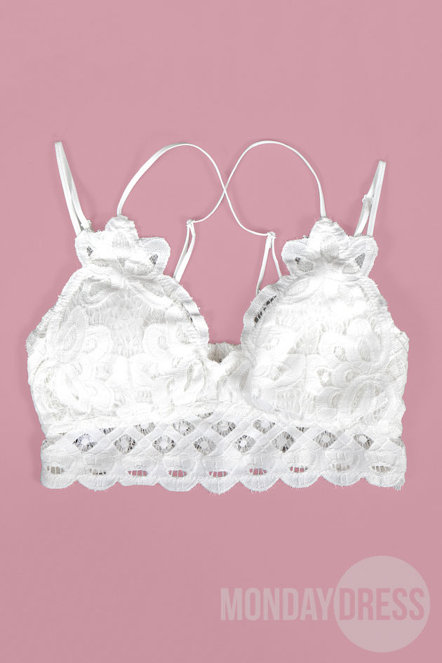 You Give Me Butterflies Bralette