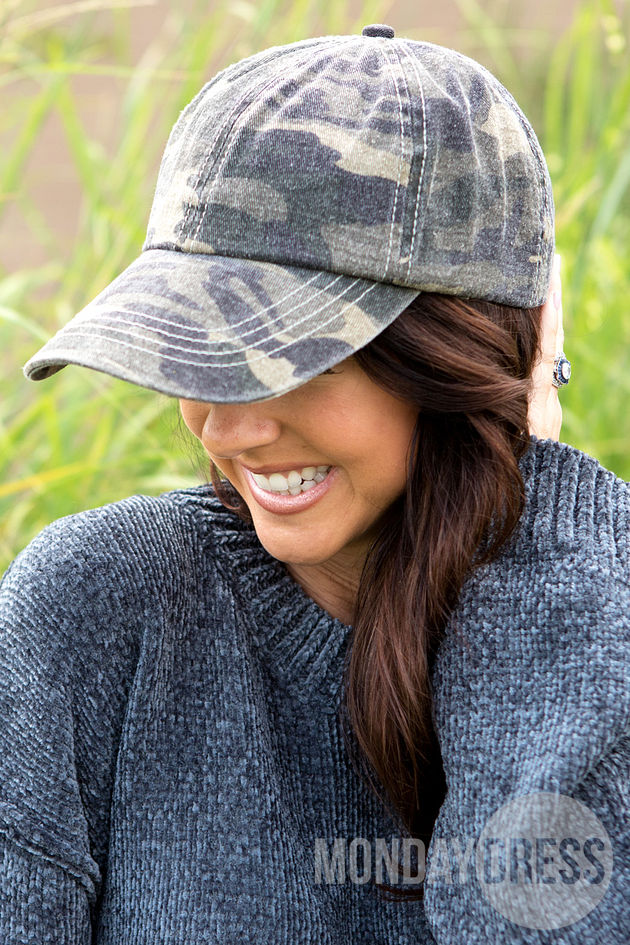 Love the Game Camo Hat