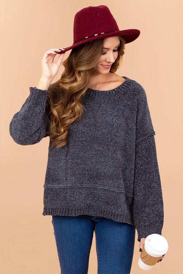 Connie Drop Shoulder Sweater