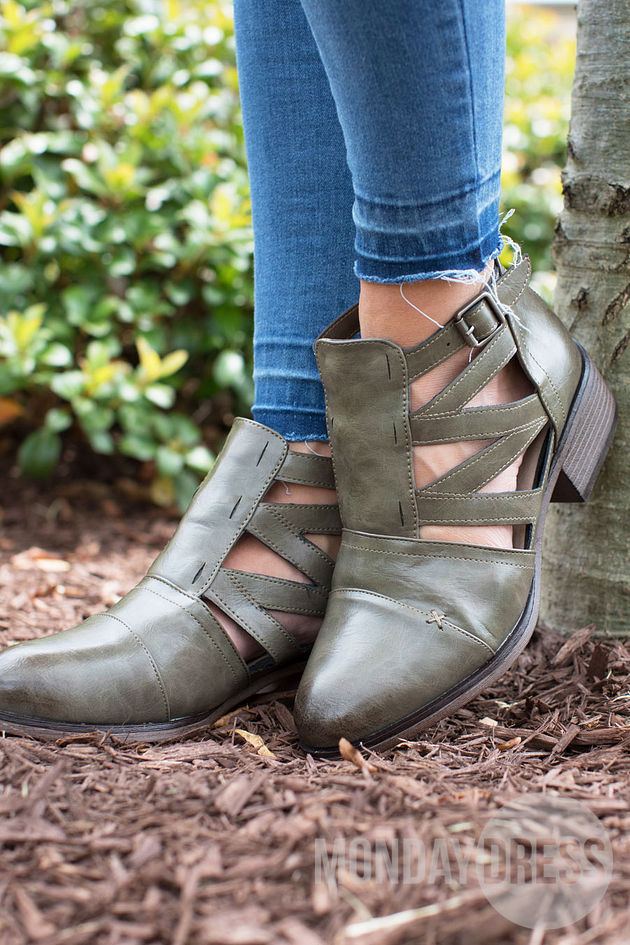 The Loden Bootie
