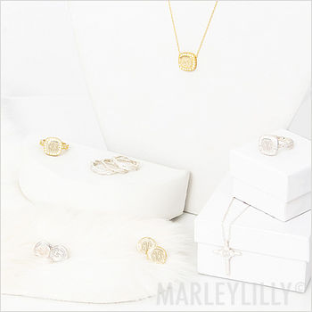 sterling silver monograms