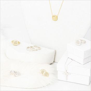 sterling silver monograms