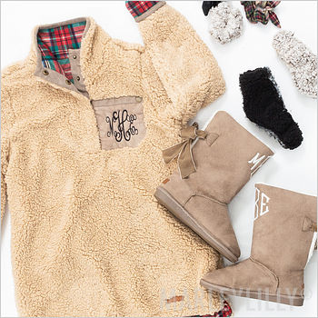 cozy clothing and accessories