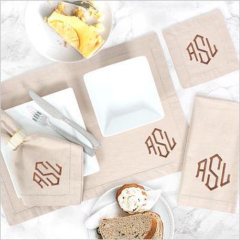 household monograms