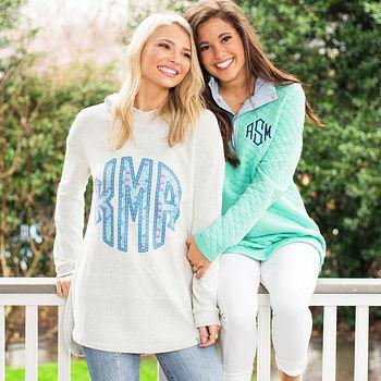 Monogrammed Sweatshirts