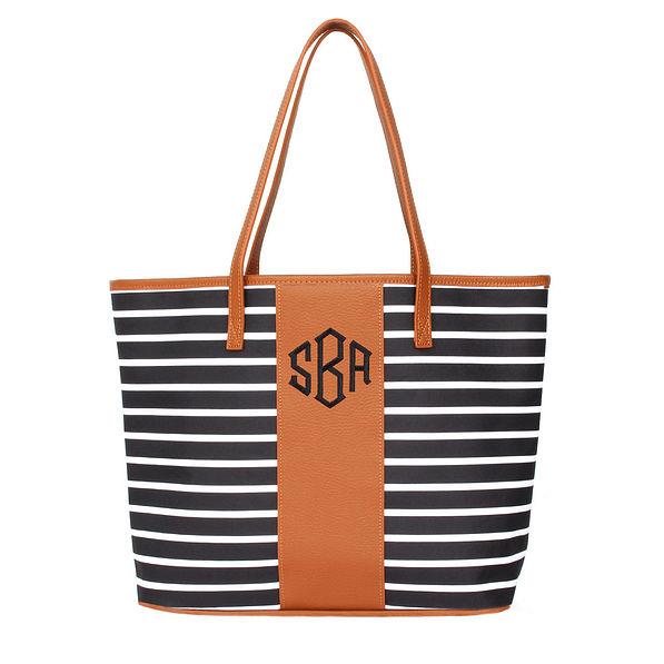 Monogrammed Tote Bag