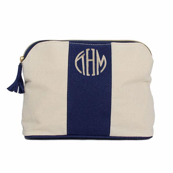 Monogrammed Make Up Bag