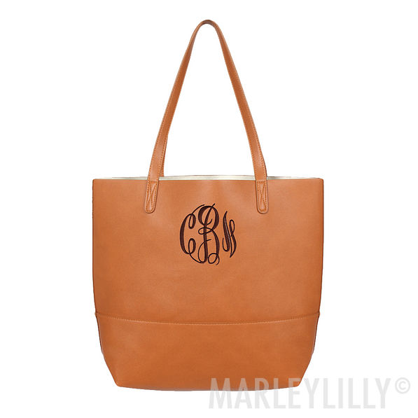 Monogrammed Basic Tote Bag