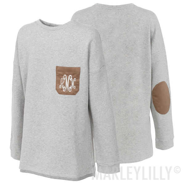 Monogrammed Preppy Patch Tunic
