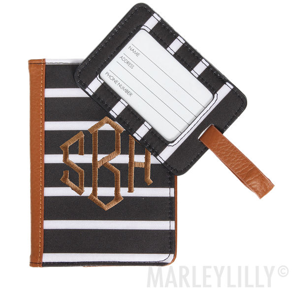 Monogrammed Travel Set