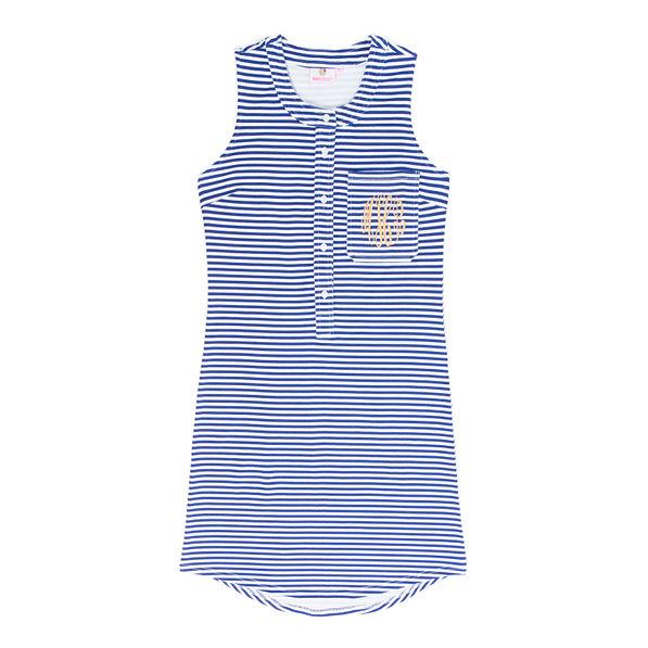 Monogrammed Sleeveless Dress