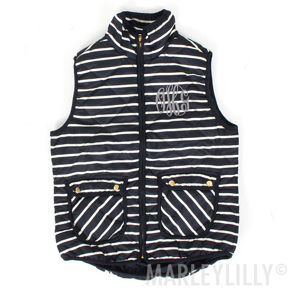 BLOOPER: Monogrammed Vest