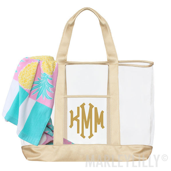 Monogrammed Beach Bag | Marleylilly