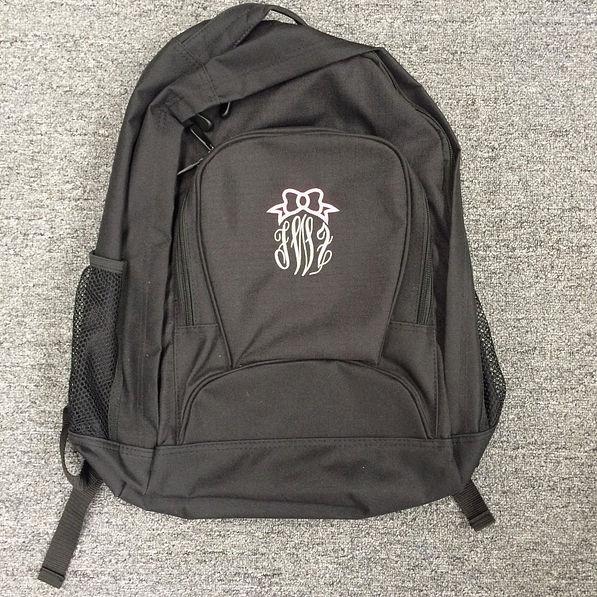 BLOOPER Monogrammed Basic Backpack