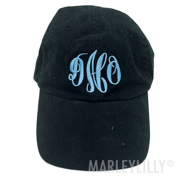 BLOOPER: Monogrammed Baseball Hat