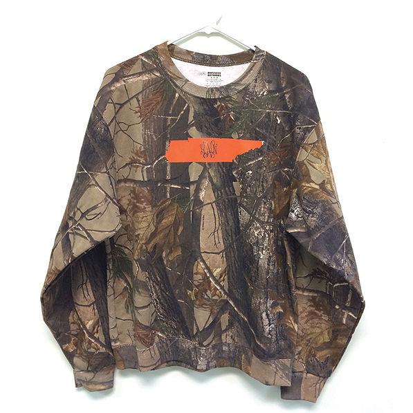BLOOPER: Monogrammed Crewneck Tennessee State Sweatshirt