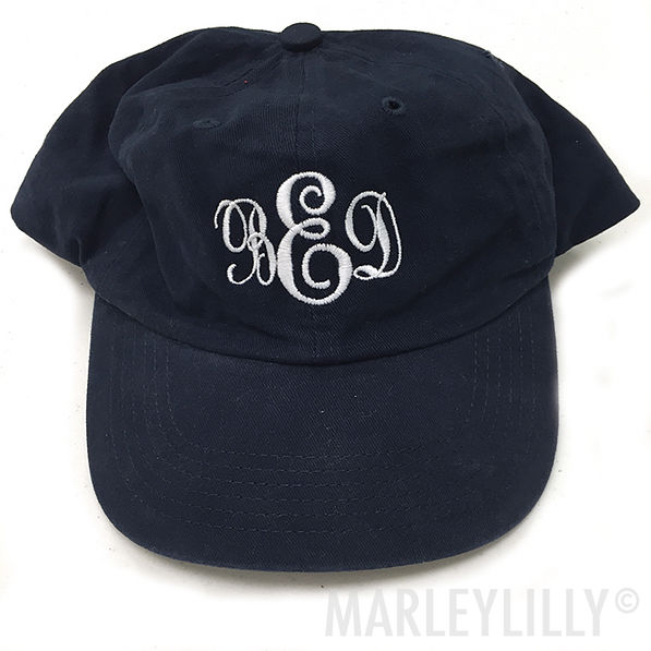 View model info BLOOPER  Monogrammed Baseball Hat 8beb3ff750c1