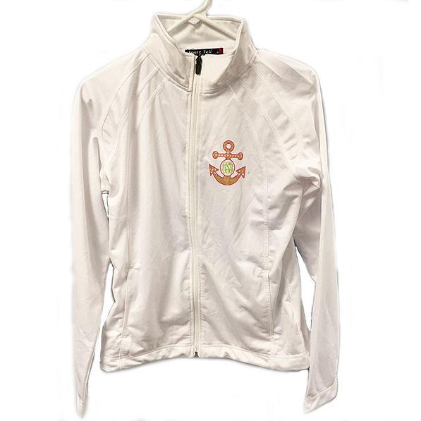 BLOOPER: Monogrammed Dry Sport Jacket