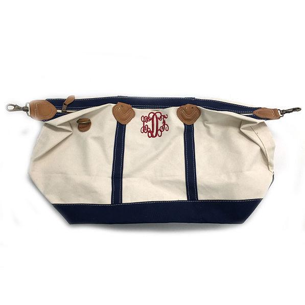 BLOOPER: Monogrammed Sunshine Satchel Duffel Bag