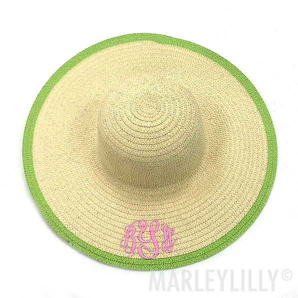 BLOOPER: Monogrammed Derby Hat
