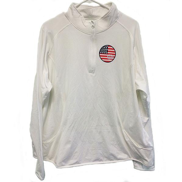 BLOOPER: Monogrammed Dry Sport Pullover
