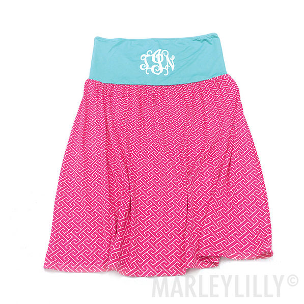 BLOOPER: Monogrammed Swimsuit Coverup