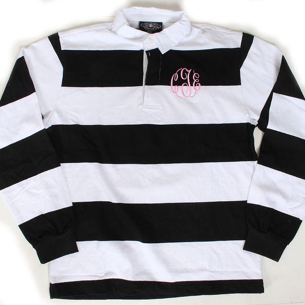 BLOOPER: Monogrammed Rugby Shirt