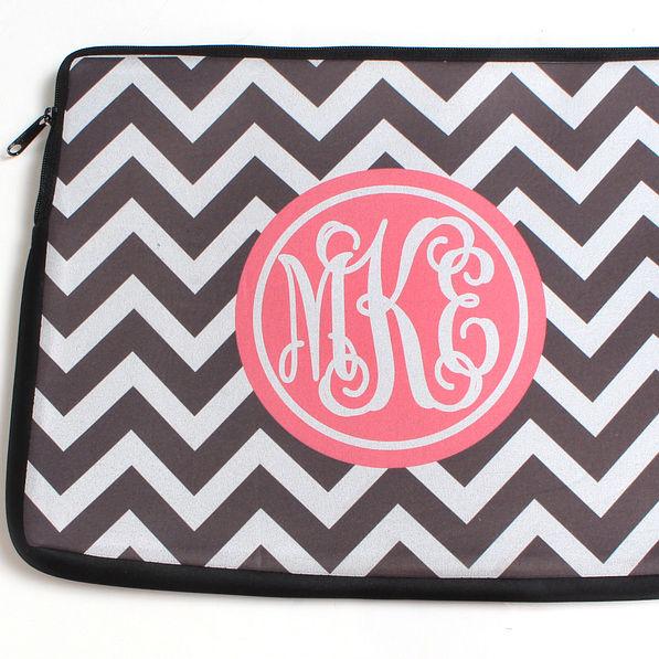 BLOOPER: Monogrammed Custom 14 inch Laptop Case