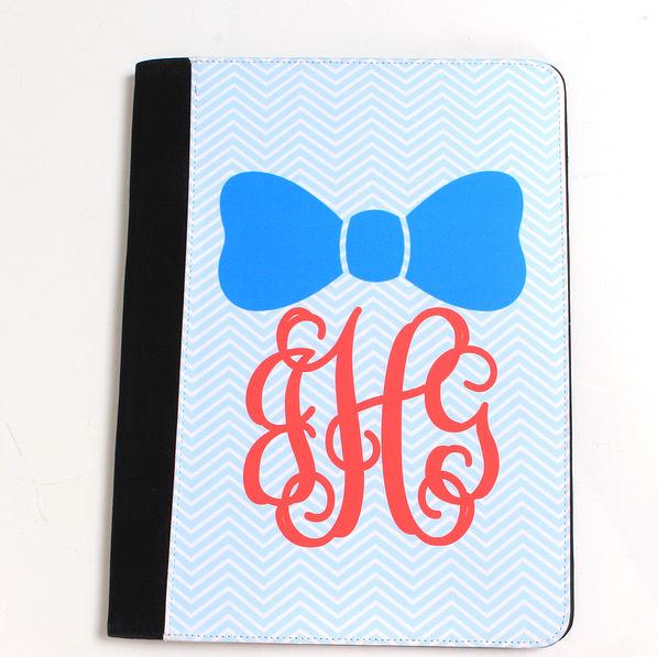 BLOOPER: Monogrammed Medium Portfolio Notebook