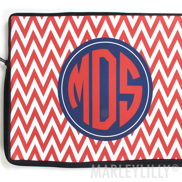 BLOOPER: Monogrammed Custom 14 inch Laptop Case
