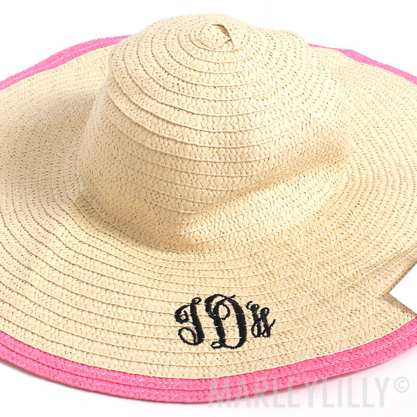 BLOOPER: Monogrammed Derby Hat