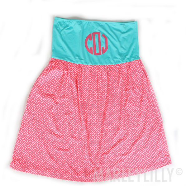 BLOOPER: Monogrammed Swimsuit Cover Up