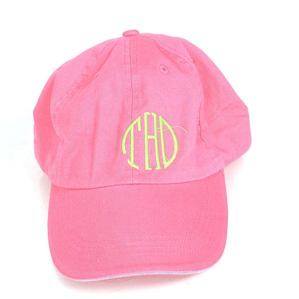 BLOOPER: Monogrammed Baseball Hat