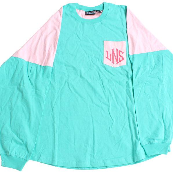 BLOOPER: Monogrammed Pocket Pullover Jersey