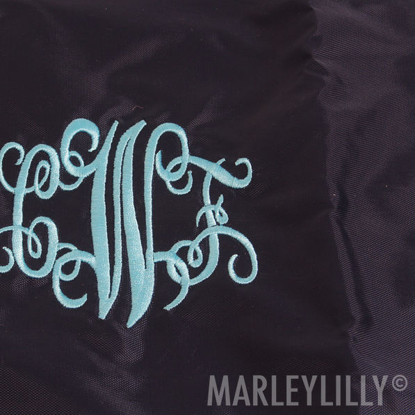 BLOOPER: Monogrammed Cinch Pack