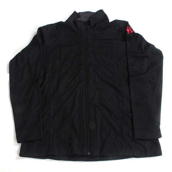 BLOOPER: Monogrammed Ladies Pop Collar Full Zip Jacket