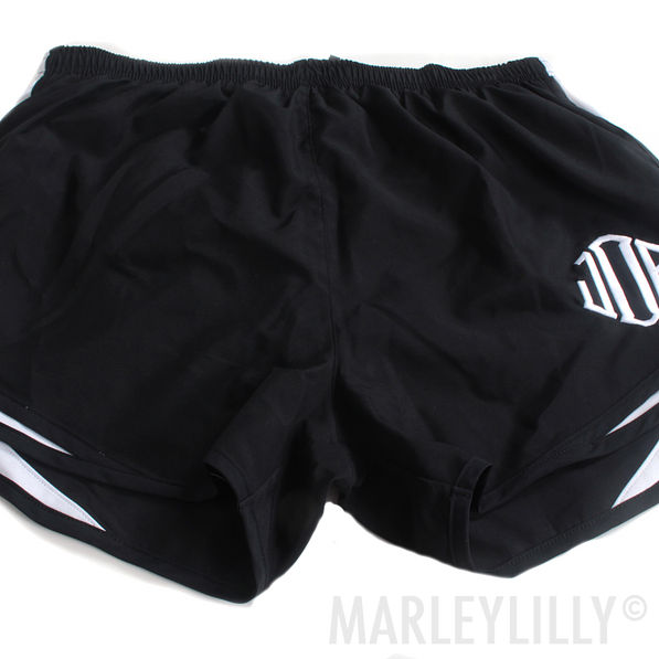 BLOOPER: Monogrammed Running Shorts