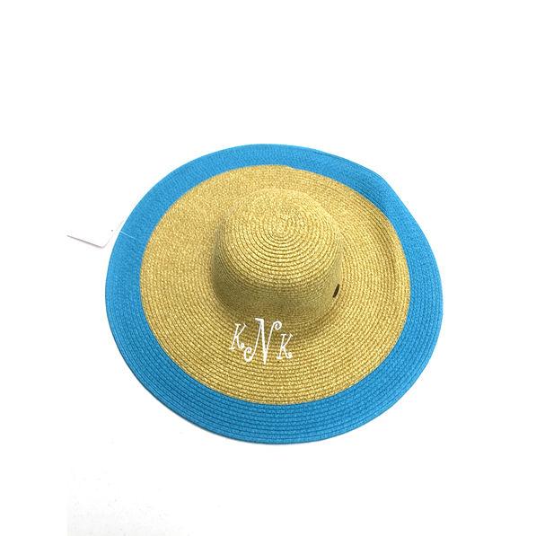 BLOOPER: Monogrammed Button Derby Hat