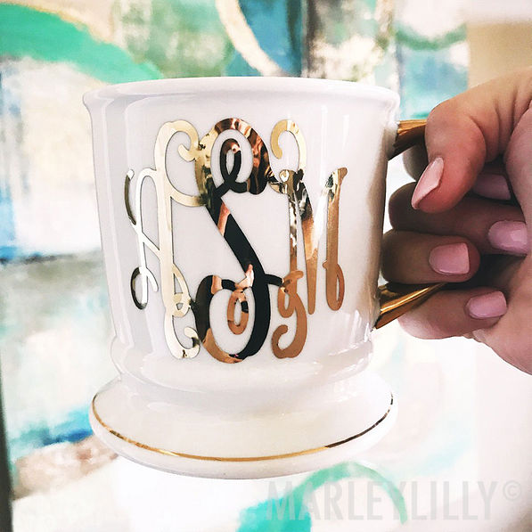 Monogrammed Coffee Mug