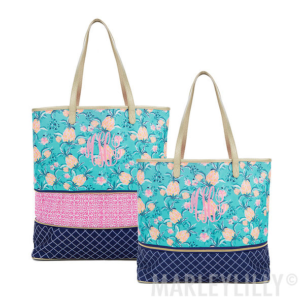 Monogrammed Expandable Overnight Bag