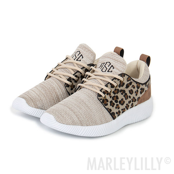 Personalized Leopard Sneakers - Marleylilly