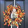 Monogrammed Wreath Hanger
